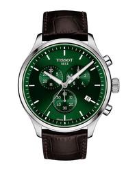 Tissot Chrono Xl Chronograph Leather Watch