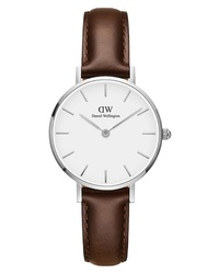 Daniel Wellington Classic Petite Leather Watch
