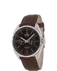 Festina F166295 Brown Leather Brown Dial Analog Quartz Watch