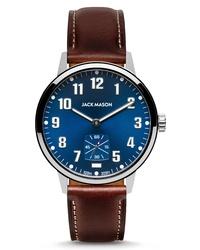 Jack Mason Field Sub Second Leather Watch