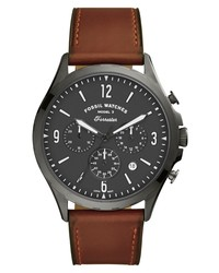 Fossil Forrester Chronograph Leather Watch
