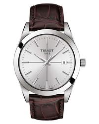 Tissot Gentleman Leather Watch