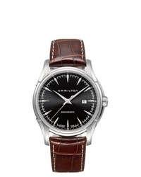 Hamilton Jazzmaster Viewmatic Black Dial Watch H32715531
