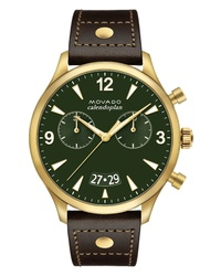 Movado Heritage Calendoplan Chronograph Watch