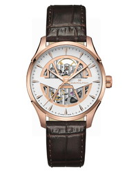 Hamilton Jazzmaster Skeleton Leather Watch