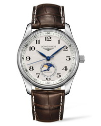 Longines Master Automatic Alligator Leather Watch