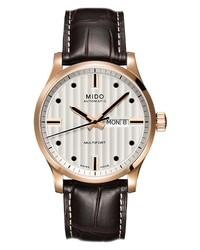 MIDO Multifort Automatic Leather Watch