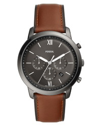 Fossil Neutra Chronograph Leather Watch