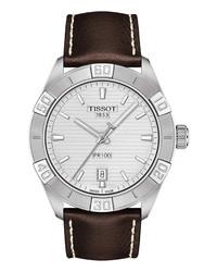 Tissot Pr 100 Leather Watch