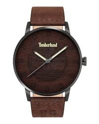 Timberland Raycroft Leather Watch