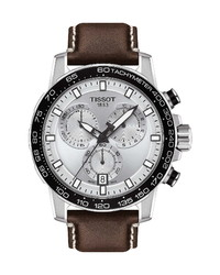 Tissot Supersport Chronograph Leather Watch