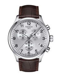 Tissot T Sport Chronograph Leather Watch