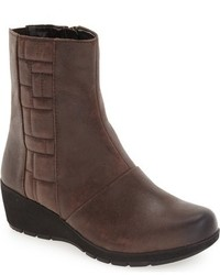 Aetrex Trex Jane Wedge Bootie