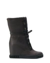 Casadei Wedge Ankle Boots