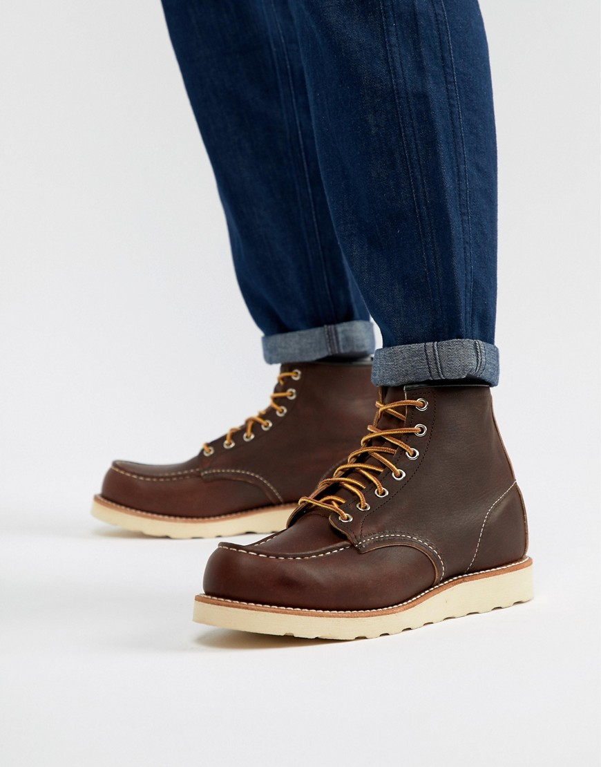 Red Wing 6 Inch Classic Moc Toe Boots