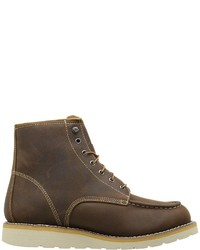 5aae386d3049 ... Carhartt 6 Waterproof Wedge Boot Lace Up Boots ...