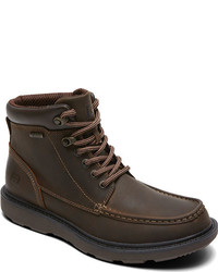 Rockport Boat Builders Waterproof Moc Toe Boot Black Boots