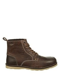 Crevo Buck Moc Toe Lace Up Boot
