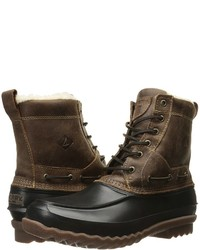 Sperry Decoy Shearling Boot Lace Up Boots