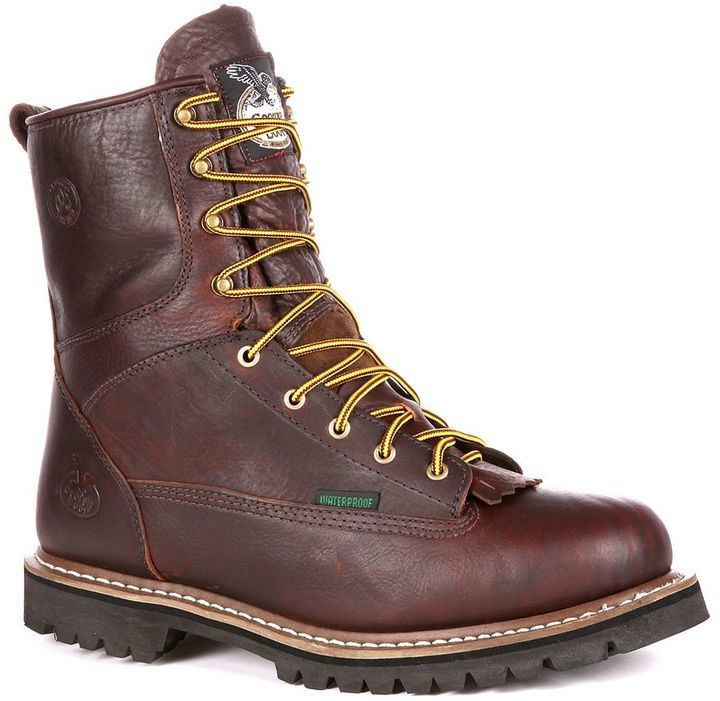 Georgia Boot Loggers 8 In Waterproof Work Boots | Where to buy