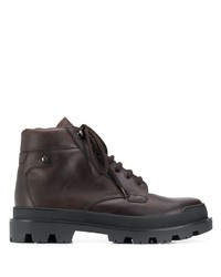 Prada Lace Up Ankle Length Boots
