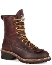 Georgia Boot Loggers Waterproof Work Boots
