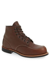 Red wing cooper moc toe boot medium 3691026