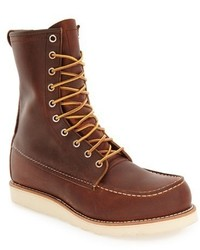 Red wing moc toe boot medium 1247495