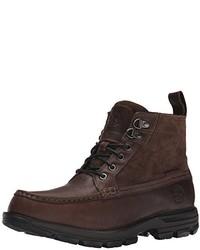Men's Dark Brown Work Boots by Timberland Herremote  Men's Fashion