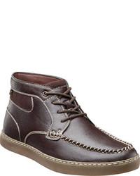 Stacy Adams Trickster Moc Toe Chukka Boot 53419 Cognac Pu Boots