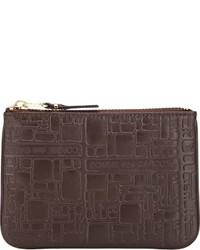 Comme des garons small zip pouch medium 417026