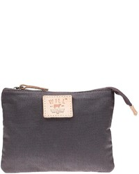 Will Leather Goods Waxed Canvas Zip Pouch Small