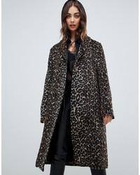 Religion Coat In Leopard
