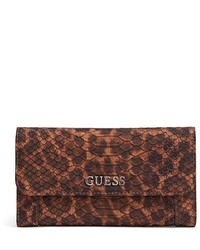 Delaney leopard print slim clutch medium 129890