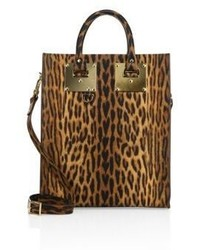 Albion leopard printed leather mini tote medium 3702509