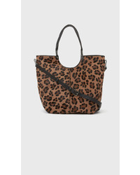 Elizabeth and James Cynnie Convertable Shopper Leopard