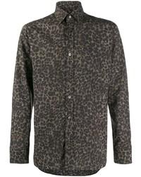 Tom Ford Leopard Print Shirt