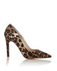 Barneys New York Leopard Calf Hair Viola Pumps Multi