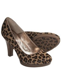 Sofft Broadway Classic Pumps Leopard Horse Hair