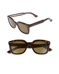 Dark Brown Leopard Sunglasses