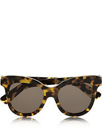 Dark Brown Leopard Sunglasses