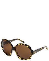 House Of Harlow 1960 Anais Leopard Sunglasses