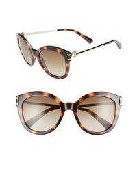Longchamp 55mm Cat Eye Sunglasses