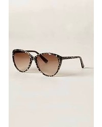 Anthropologie Spring Leopard Sunglasses