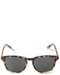 Bottega Veneta Leopard Print Sunglasses