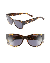Max Mara Flat Ii 54mm Cat Eye Sunglasses