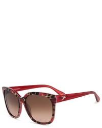 Diane von Furstenberg Julianna Square Sunglasses