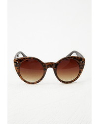 Forever 21 Leopard Cat Eye Sunglasses