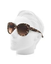 d54aa43f6c7e Dolce & Gabbana Leopard Print Cat Eye Sunglasses, $235 ...