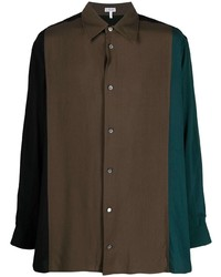 Loewe Colour Block Button Front Shirt
